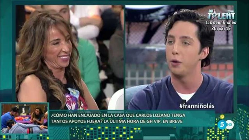 """Fran Nicolás se enfrenta a María Patiño: """"¿Debes algo a Hacienda?"""""""