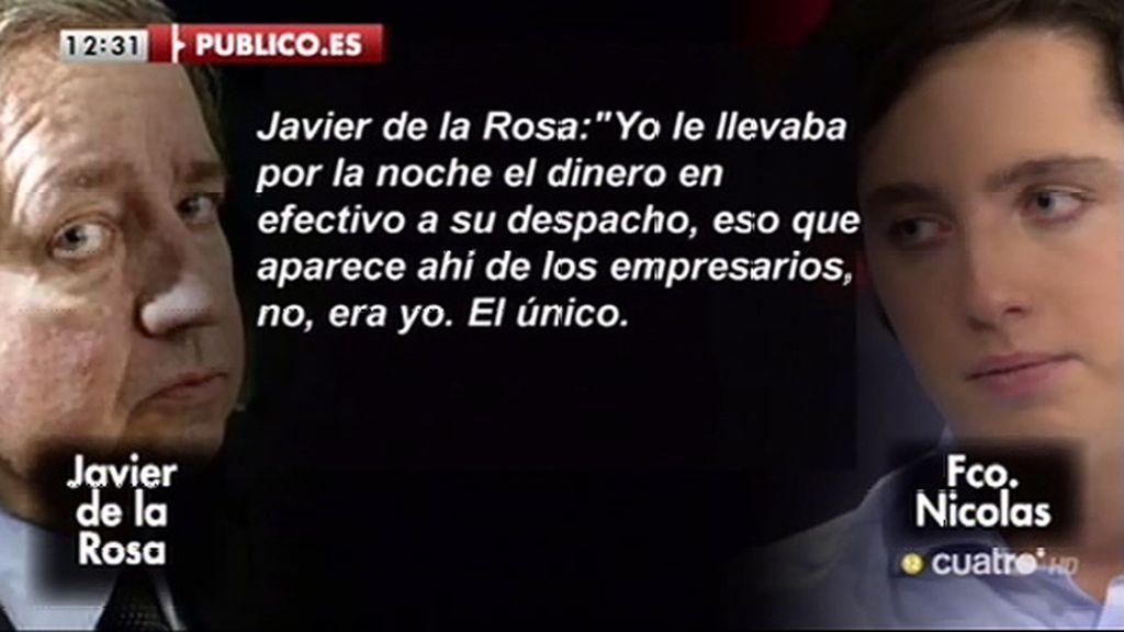 """De la Rosa: """"El Ministro del Interior ha vivido de los Pujol durante muchos años"""""""