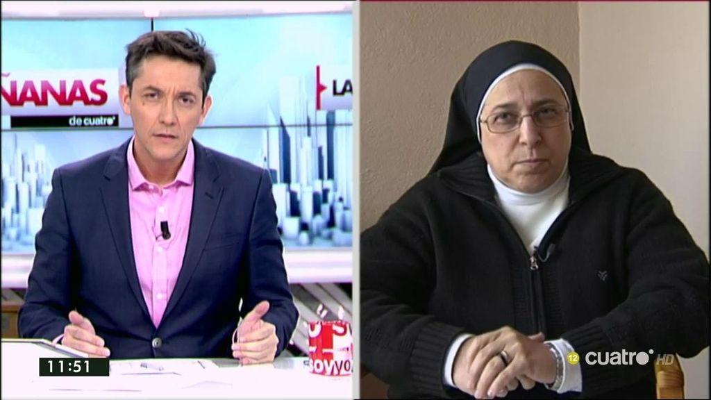 """Sor Lucía: """"Lo importante no es la silla y las cotas de poder, son los ciudadanos"""""""