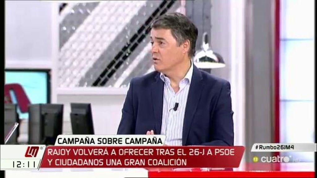 """Carlos Rojas (PP): """"Ofrecemos centralidad, diálogo y moderación, ese es el PP"""""""