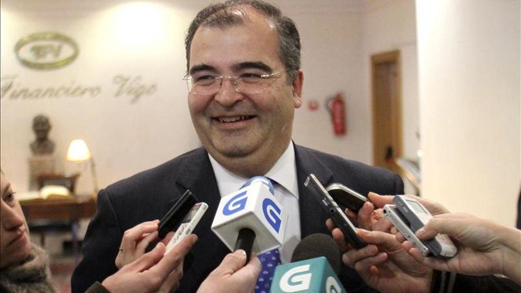 El presidente del Banco Popular, Ángel Ron. EFE/Archivo