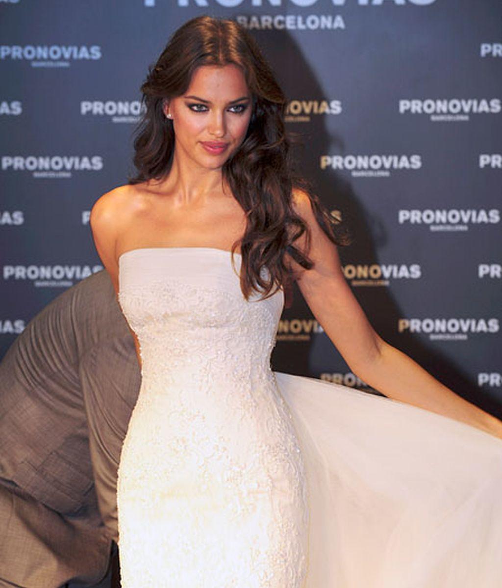 Irina Shayk, vestida de novia