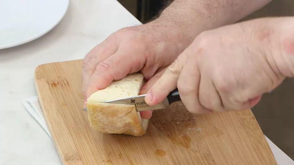 El truco del almendruco de Berasategui para cortar el queso cremoso