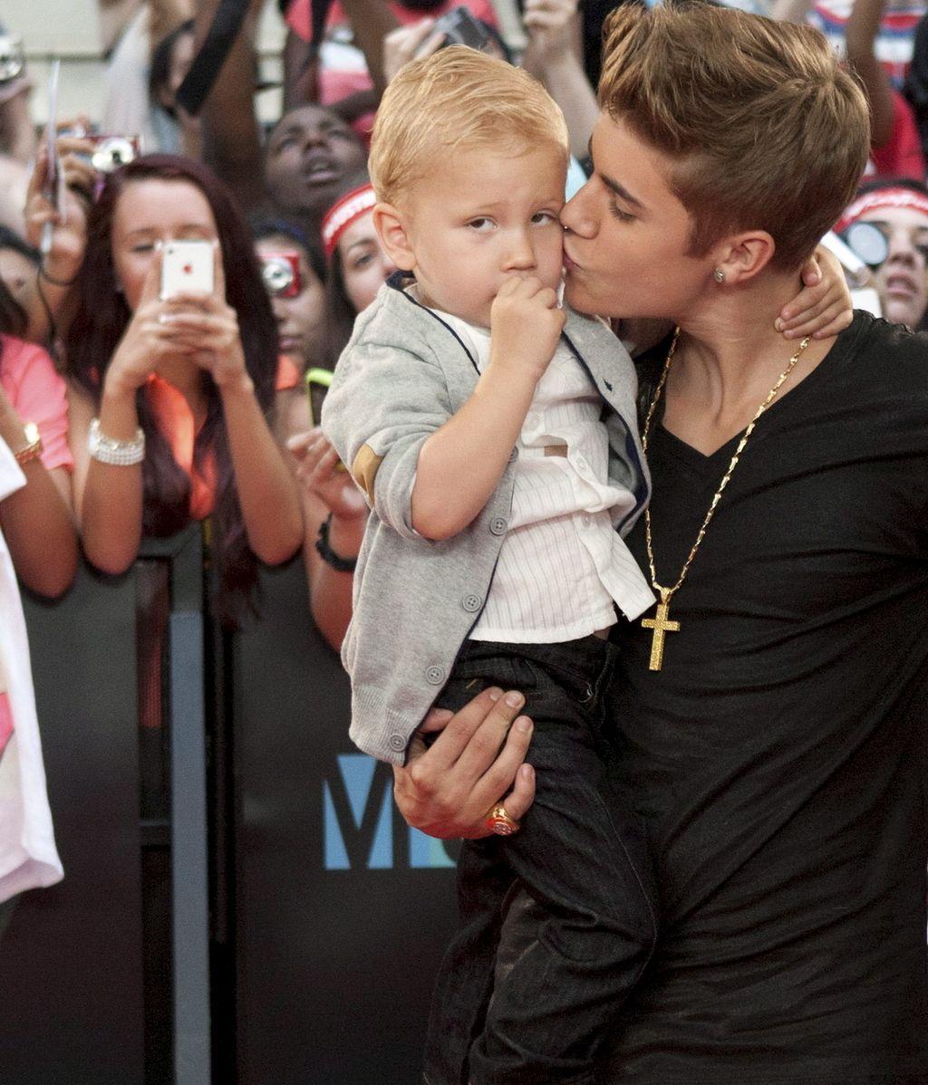 El hermano de Justin Bieber