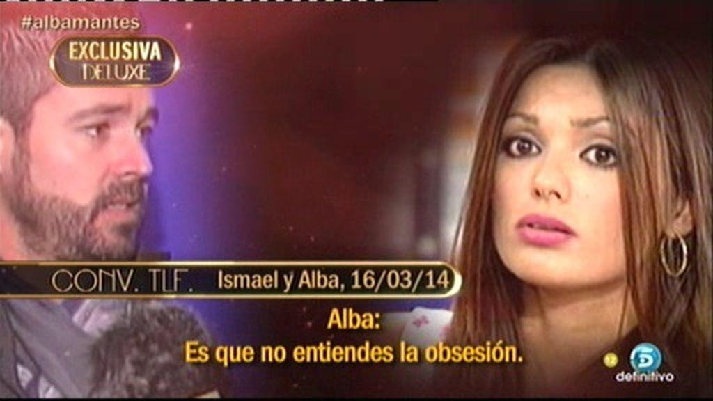 Así fue la conversación que Alba, mujer de Antonio Tejado, mantuvo con Ismael
