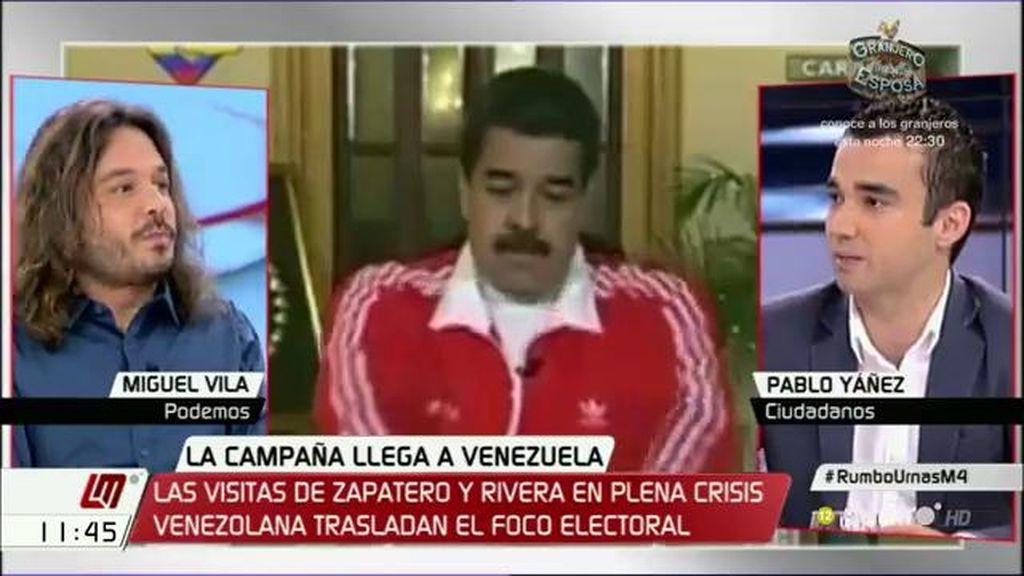 """Pablo Yáñez (C's): """"La asamblea venezolana invita a Albert Rivera a hablar de democracia y la mayor naturalidad es acudir"""""""