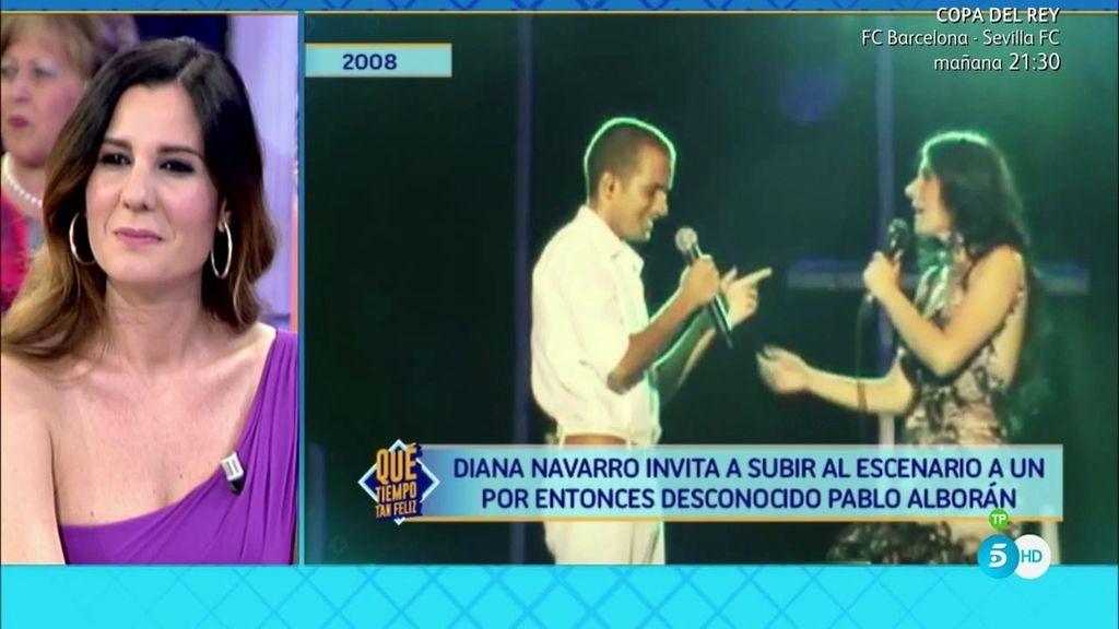 Diana Navarro nos descubre al Pablo Alborán más desconocido ¡Irreconocible!
