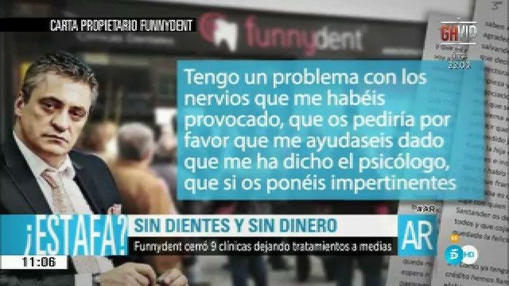 Cristóbal López Vivar, acusado de estafar 8,8 millones con Funnydent
