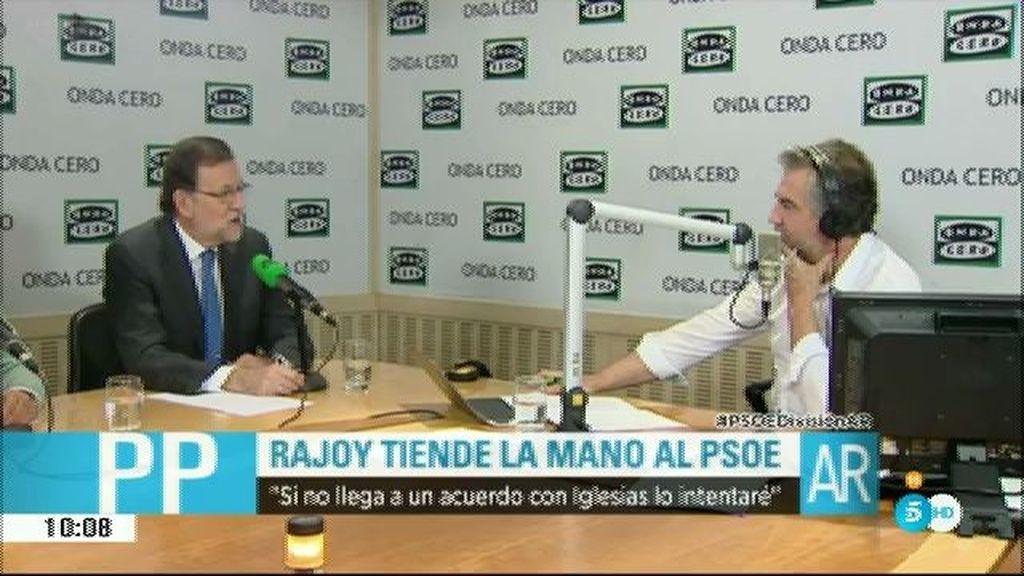 """Rajoy: """"Si Sánchez no llega a un acuerdo, se lo plantearé yo al señor Sánchez"""""""