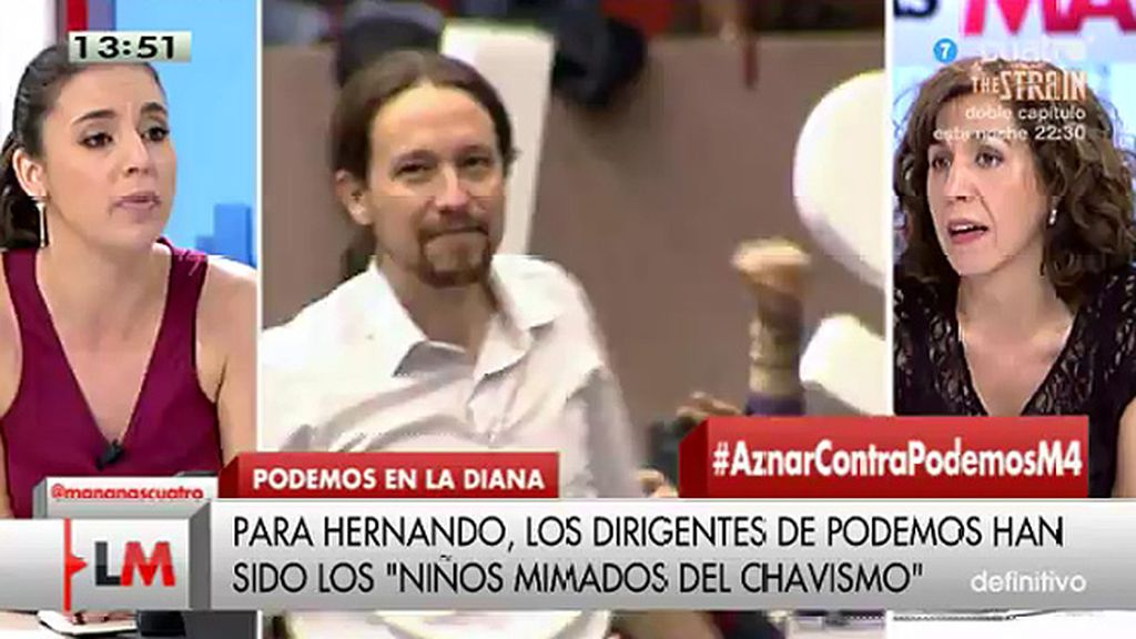 """I. Lozano, a I Montero: """"Transparencia Internacional' acredita es que el partido más transparente de España es UPyD"""""""