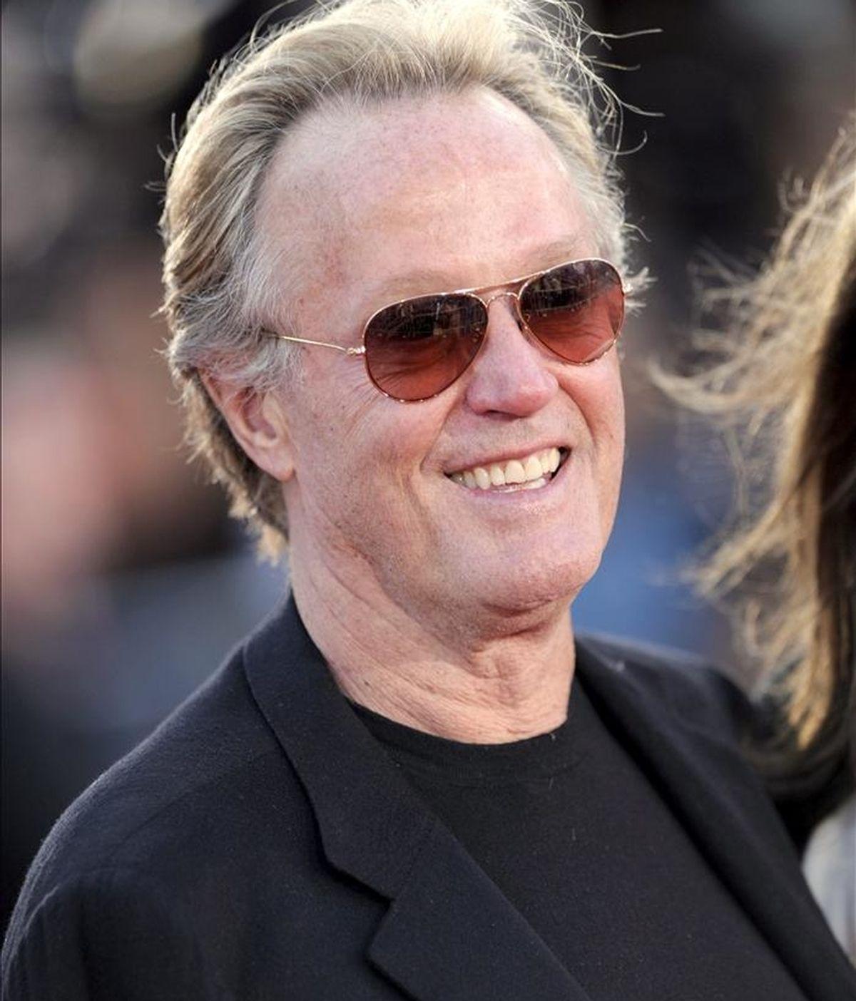 Imagen del actor estadounidense Peter Fonda. EFE/Archivo