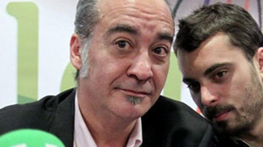 Imagen de archivo del cabeza de lista de Bildu en Guipúzcoa, Martín Garitano. Foto: EFE.