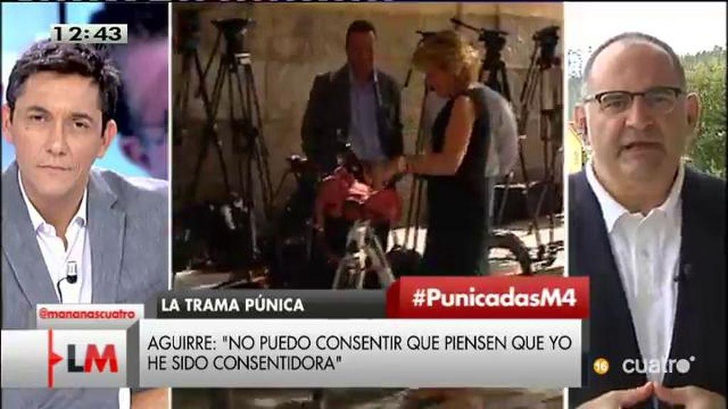 """Antón Losada, de Aguirre: """"Estamos ante un nuevo caso de 'jetrocracia"""""""