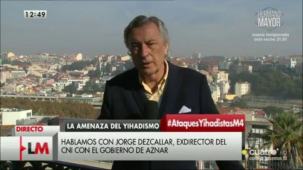 La entrevista con Jorge Dezcallar, a la carta