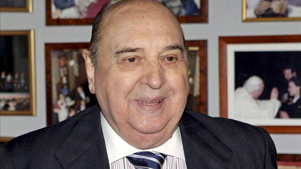 Fotografía de archivo (13/11/07) del actor Juanito Navarro, fallecido el pasado 10 de enero en su domicilio de Madrid a los 86 años. EFE/Archivo