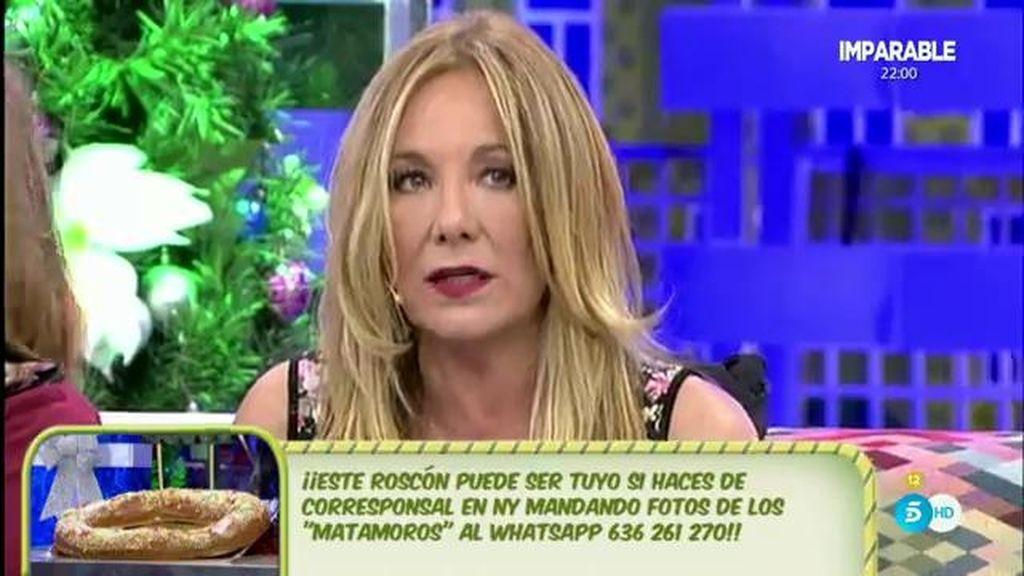 """Belén Rodríguez: """"No entiendo la animadversión que tenéis a la familia Matamoros"""""""