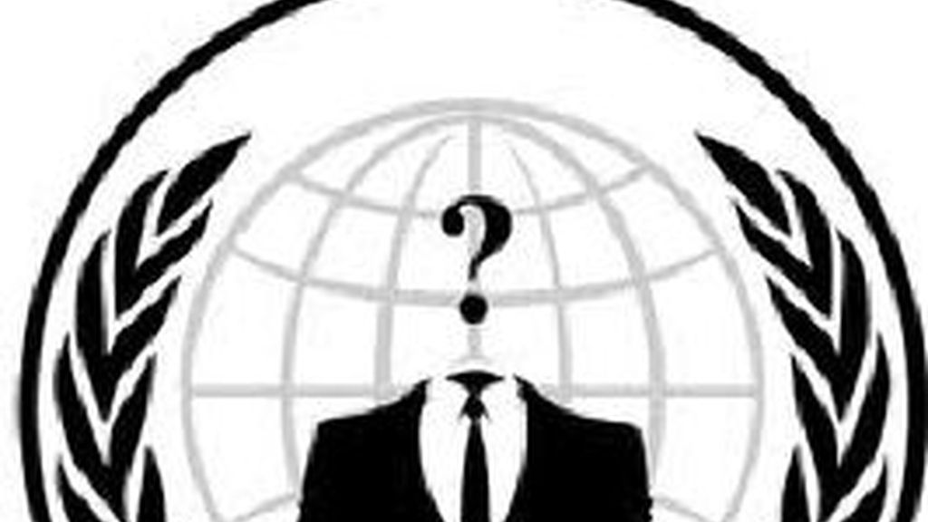 El grupo de hacktivistas ha violado los sistemas de seguridad de la red de Apple y ha robado 27 nombres de usuario y contraseñas del servidor de la compañía. Logo de Anonymous