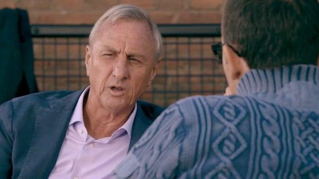 """Johan Cruyff: """"Los catalanes no eran valientes y por eso fiché cuatro vascos"""""""