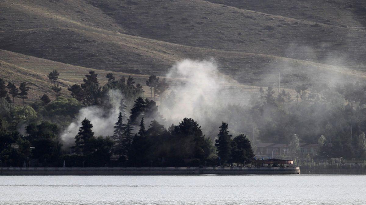 Los talibanes atacan un hotel en Kabul