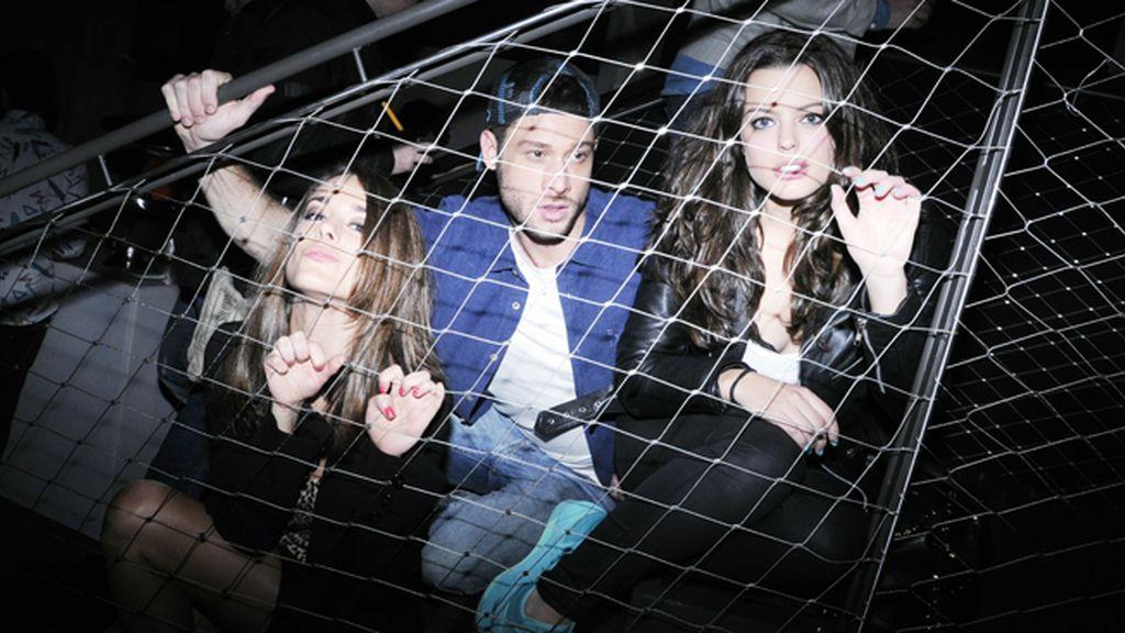 Los actores Silvia Alonso, José Lamuño y Adriana Torrebejano