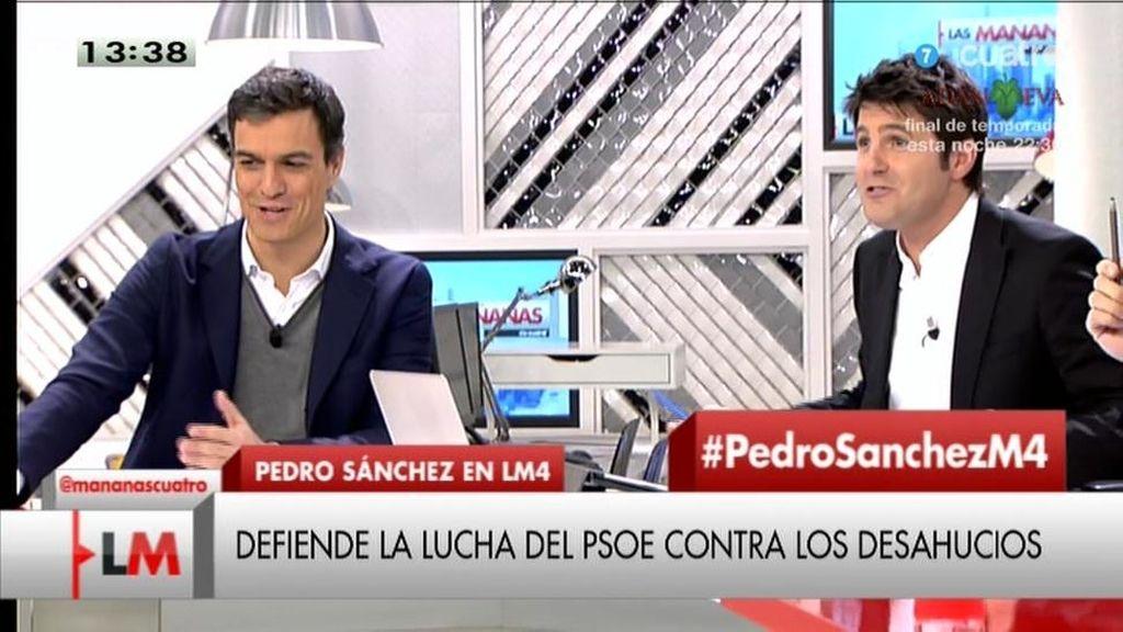 La entrevista íntegra de Pedro Sánchez