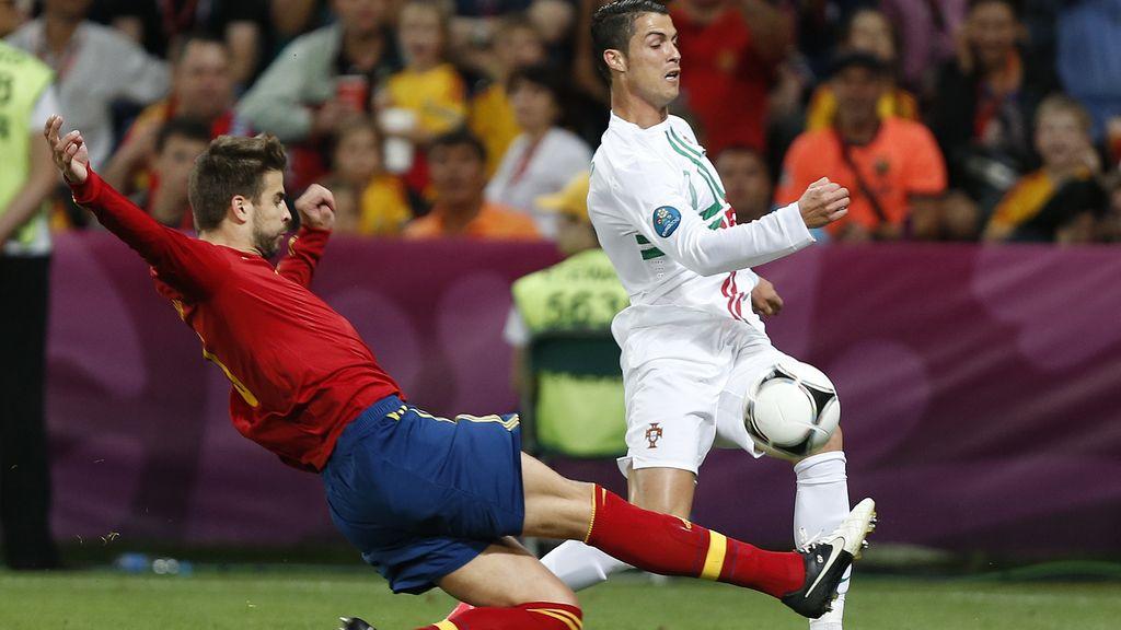 Portugal-España, en imágenes