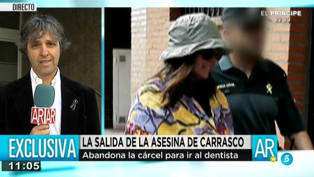 EXCLUSIVA AR: La asesina de Carrasco recibe insultos al salir de la cárcel