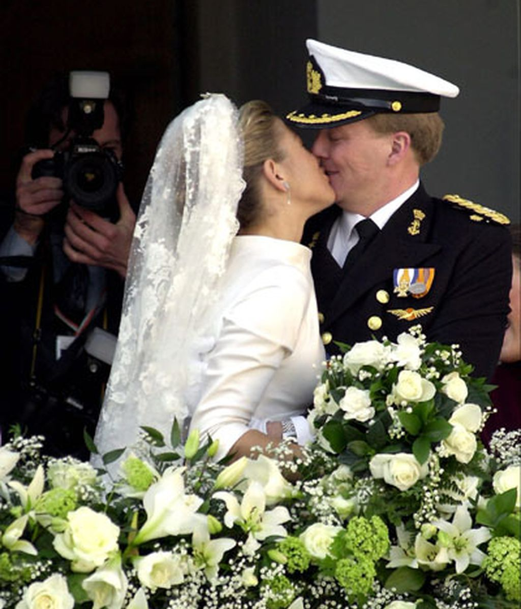 Máxima Zorreguieta y el príncipe Guillermo de Holanda