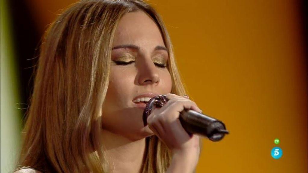 Edurne estrena nueva canción en 'Got Talent'