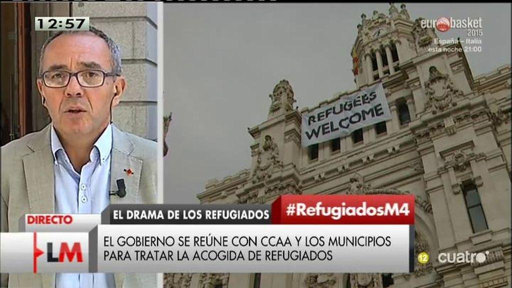 """Coscubiela: """"El Gobierno español tiró pelotas fuera en el tema de los refugiados"""""""