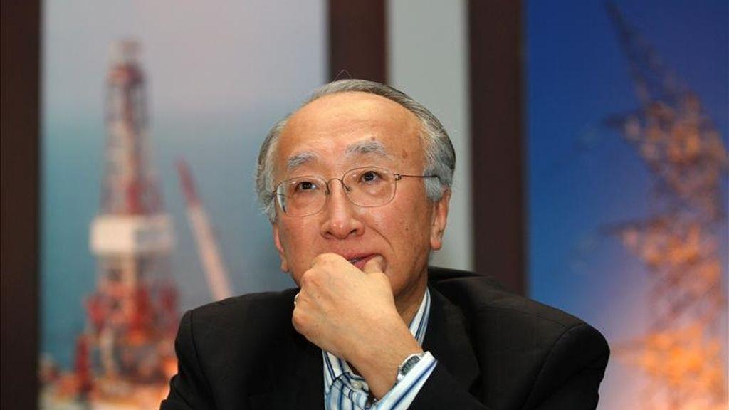 El director ejecutivo de la Agencia Internacional de Energía (AIE), Nobuo Tanaka. EFE/Archivo