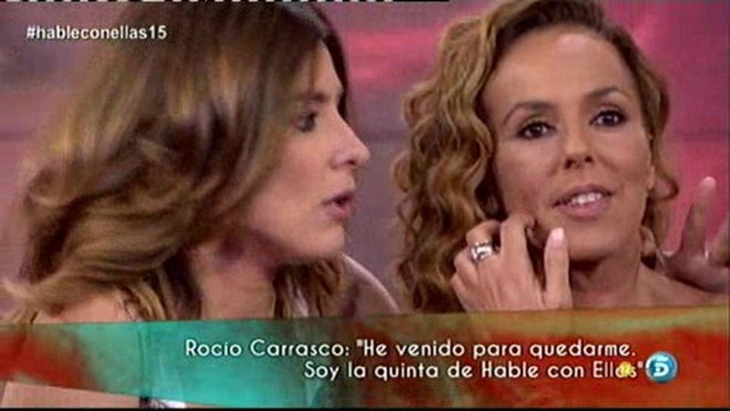 """Rocío Carrasco: """"He vuelto para quedarme"""""""