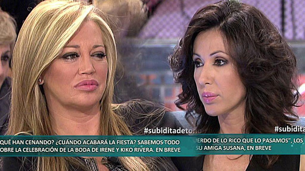 """Susana: """"Estoy convencida de que Toño Sanchís le ha robado dinero a Belén"""""""