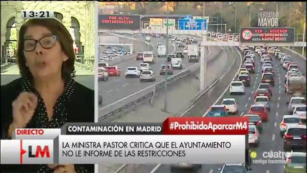 """Inés Sabanés: """"No tenemos un problema de coordinación, sino de salud pública"""""""