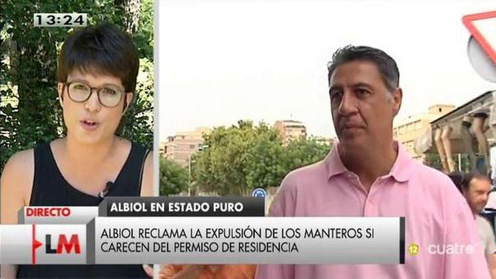 """Talegón: """"Poniendo a Albiol en Cataluña, el PP se ha movido a lo más neofranquista"""""""