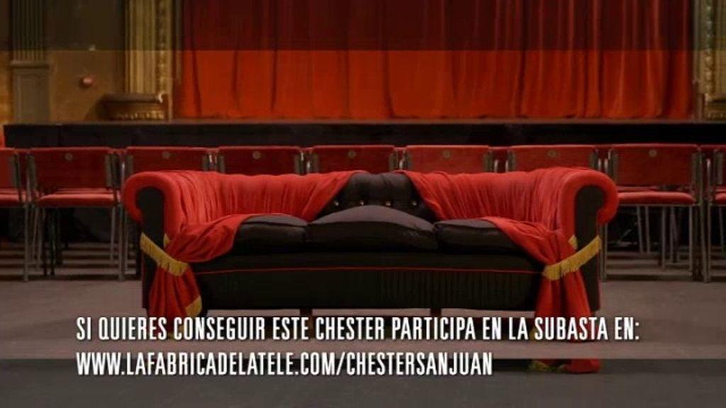 ¿Quieres el chester de Alberto San Juan?
