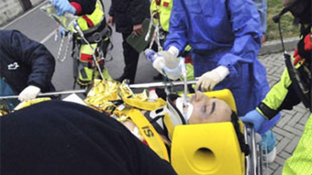 Kubica sufrió un grave accidente el pasado mes de febrero durante la disputa de un rally en Italia y estuvo a punto de perder una mano. Foto: Reuters.