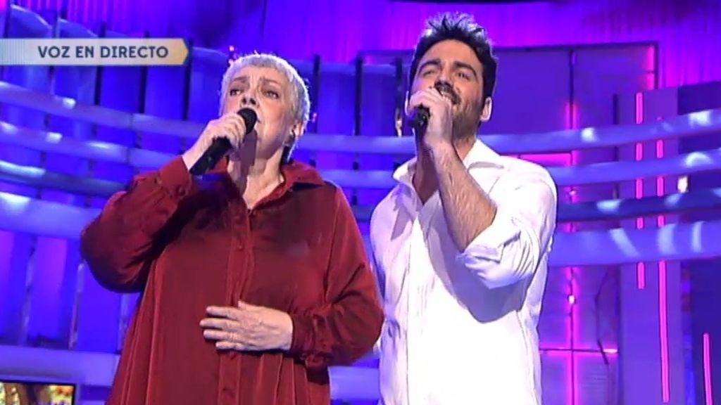 Amaia Uranda y Jon Allende interpretan 'Le llamaban loca'