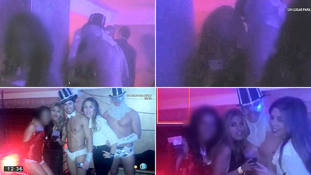 Las imágenes del beso de Chabelita y el gogó, en primicia en 'AR'