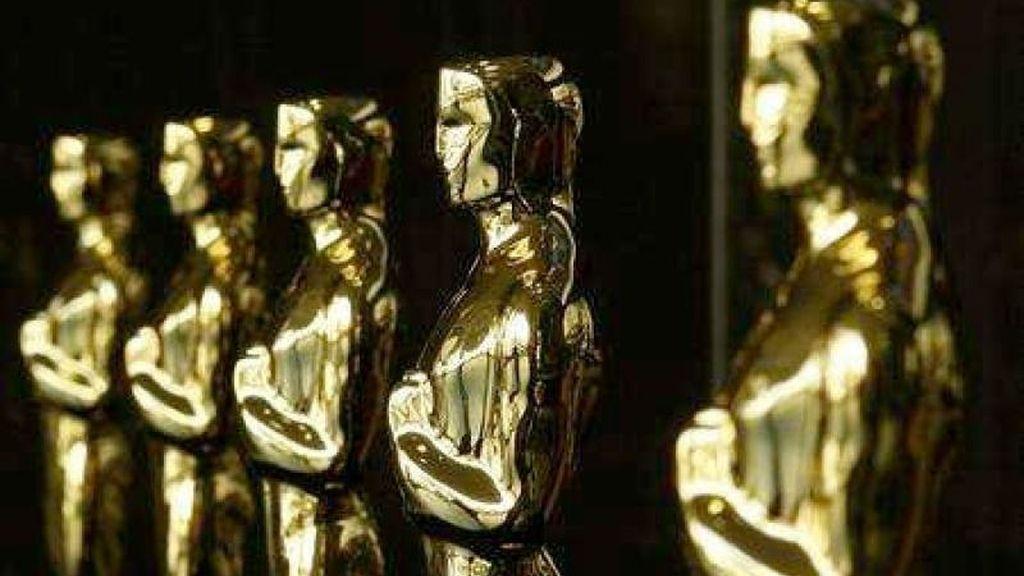 Estatuillas preparadas para los Oscar