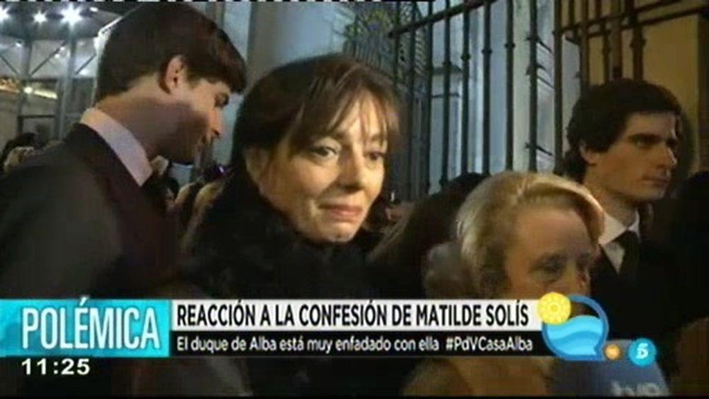 Matilde Solís, ex mujer del duque de Alba, denuncia a su psiquiatra por abusos