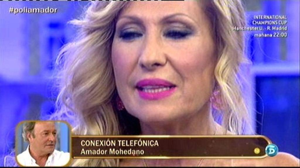 """Amador, a Rosa: """"Te he dado toda mi vida. Sinvergüenza es lo que te puedo decir"""""""