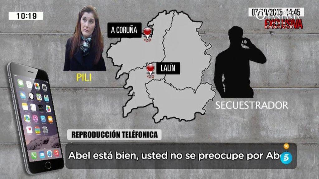 Las amenazas de los secuestradores de Abel Diéguez a su mujer, en exclusiva en 'AR'