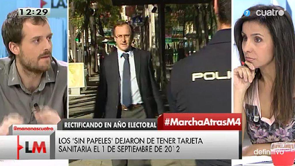 """Pablo Padilla (Podemos): """"En lo único que piensa el PP es en las urnas"""""""