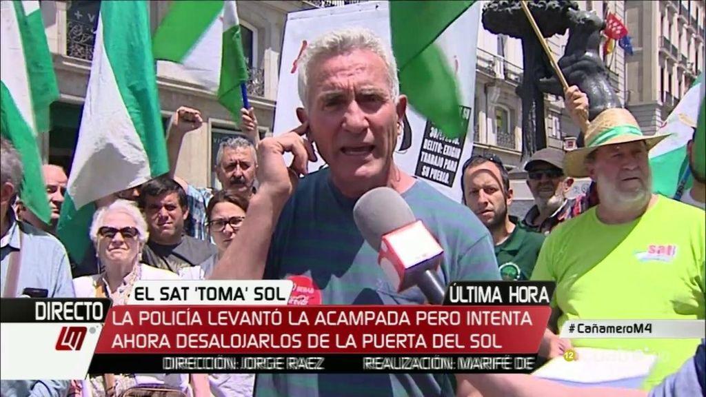"""Cañamero: """"Vamos a continuar en huelga de hambre porque Andrés Bódalo es inocente"""""""