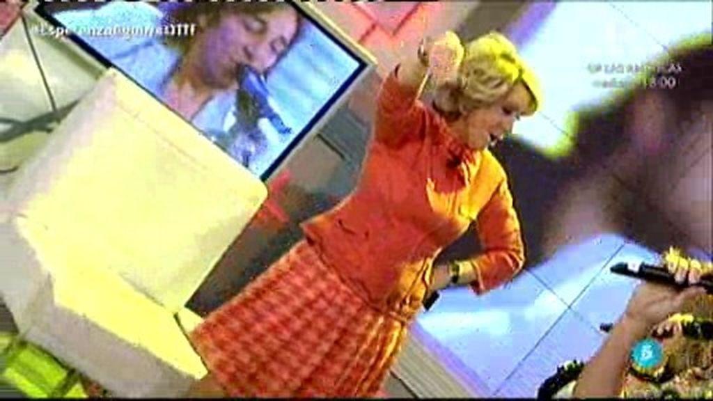 Esperanza Aguirre se arranca a bailar 'No estamos locos' de Ketama en ¡QTTF!