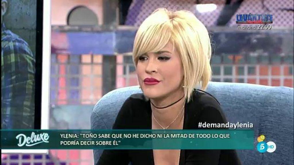 """Ylenia, sobre Toño Sanchís: """"Yo le he visto gozando por la noche"""""""