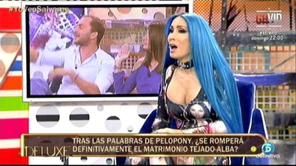 """Pelopony: """"Antonio Tejado y yo mantuvimos relaciones sexuales"""""""
