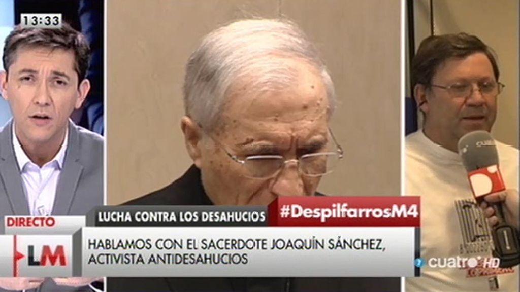 """J. Sánchez, sacerdote, habla del piso de Rouco Varela: """"Es una inmoralidad"""""""