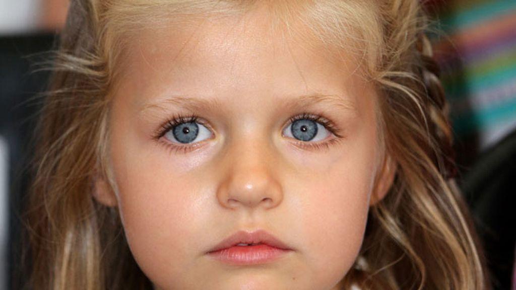 La infanta Leonor cumple 6 años